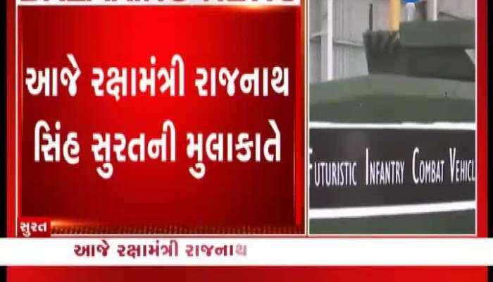 Defense Minister Rajnath Singh To Flag Off K9 Vajra Tank Today In Surat