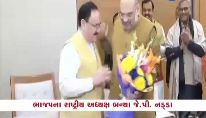 Jagat Prakash Nadda Becomes National President Of BJP