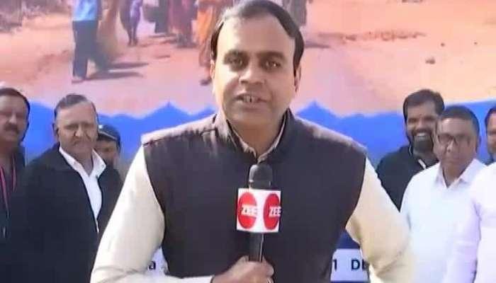 Gujarat Yatra Arraive At Unjha Of Mehsana