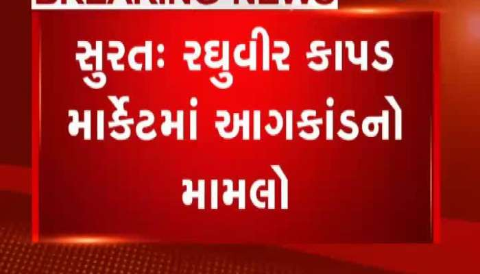 Statement Of Credai Members On Fire In Raghuvir Market In Surat
