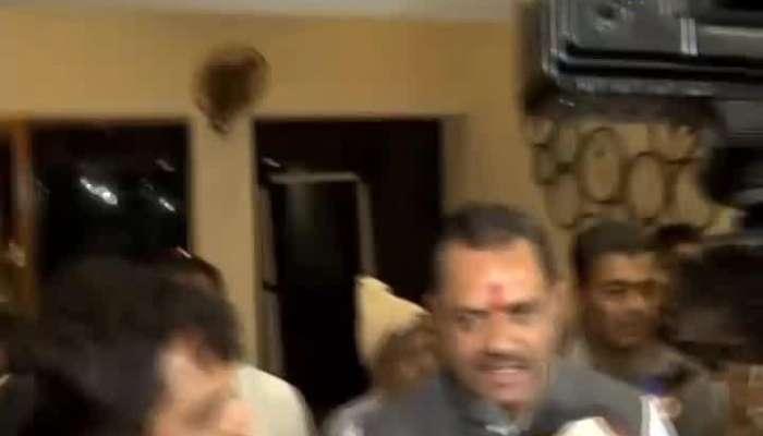 Meeting Between Jitu Vaghani And Ketan Inamdar At Circuit House Of Vadodara