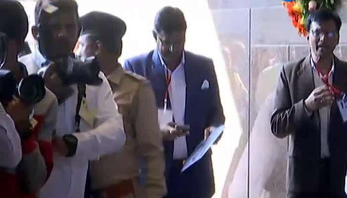CM Rupani Inauguration Of Saurashtra's Modern Bus Stop