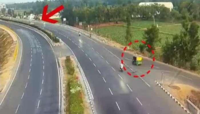 kheda accident on national highway number 8 watch video on zee 24 kalak