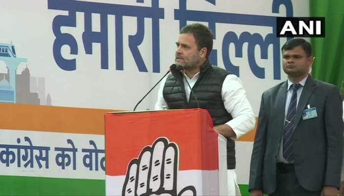 Delhi Election: રાહુલ ગાંધીએ કહ્યું- મોદી-કેજરીવાલ જૂઠ્ઠા, શાહના ભાષણમાં માત્ર કચરો હોય છે