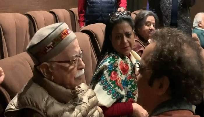 કાશ્મીરી પંડિતો પર બનેલી ફિલ્મ 'શિકારા' જોઈને રોઈ પડ્યા લાલ કૃષ્ણ અડવાણી