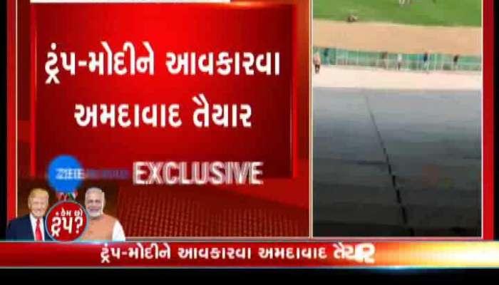 Kem Chho Trump: Donald Trump Direct Come To Ahmedabad