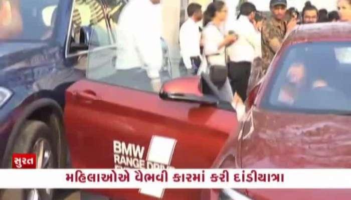 surat's 50 women enjoy dandi yatra in luxurious car