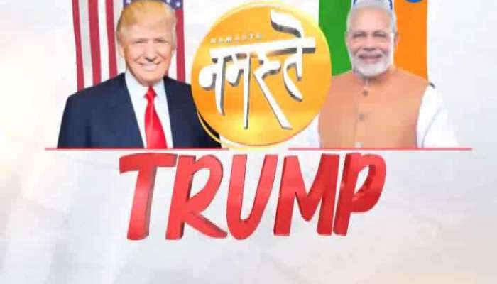 Preparation of Namaste trump programme