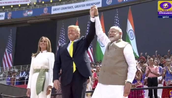 ટ્રમ્પ બોલ્યા, અમેરિકા-ભારત બંને એકસાથે મળીને આતંકવાદની વિરુદ્ઘ લડાઈ લડીશું