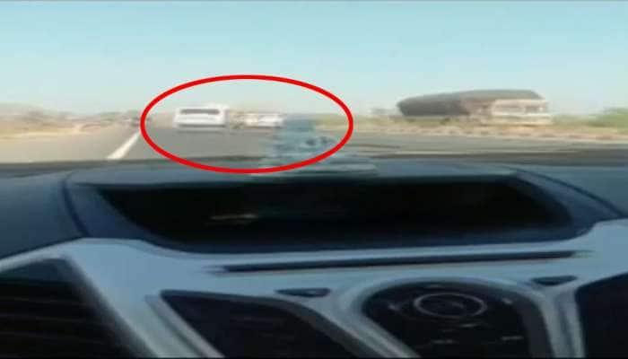 સોનગઢના ભયાનક ટ્રિપલ અકસ્માતનો video આવ્યો, જુઓ કેવી રીતે ટકરાઈ ત્રણ ગાડીઓ
