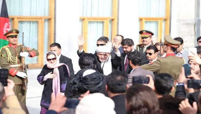 અફઘાનિસ્તાનના રાષ્ટ્રપતિ અશરફ ગનીના શપથ સમારોહની પાસે બ્લાસ્ટ, ફાયરિંગ