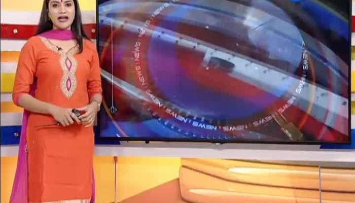 ST bus accident at lathi amreli highway, 14 people injured