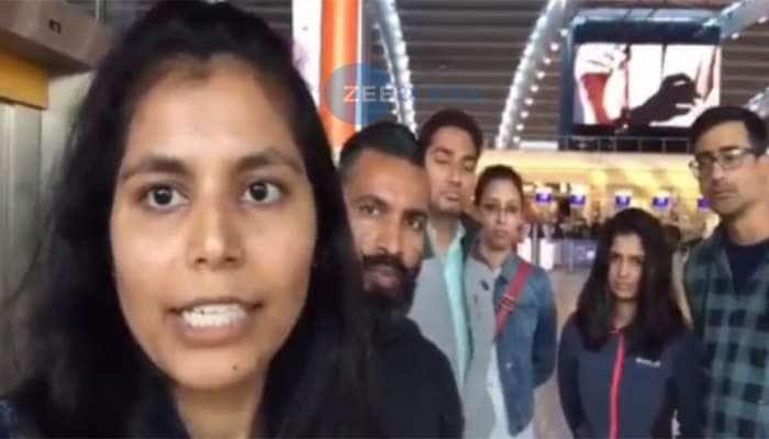 અમેરિકામાં વસતા 6 ગુજરાતીઓ લંડન એરપોર્ટ પર ફસાયા, કરી આ અપીલ
