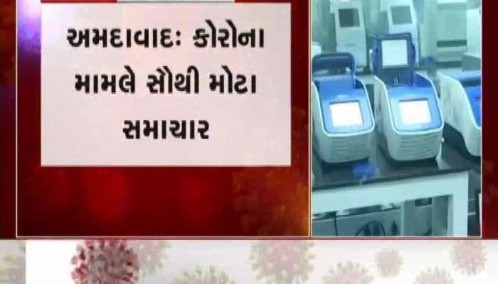 More corona positive case at Ahmedabad