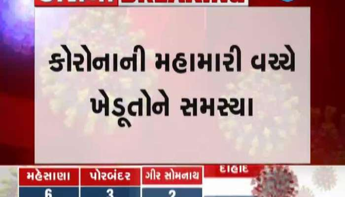 Farmers in Kheda district face problems despite government announcement