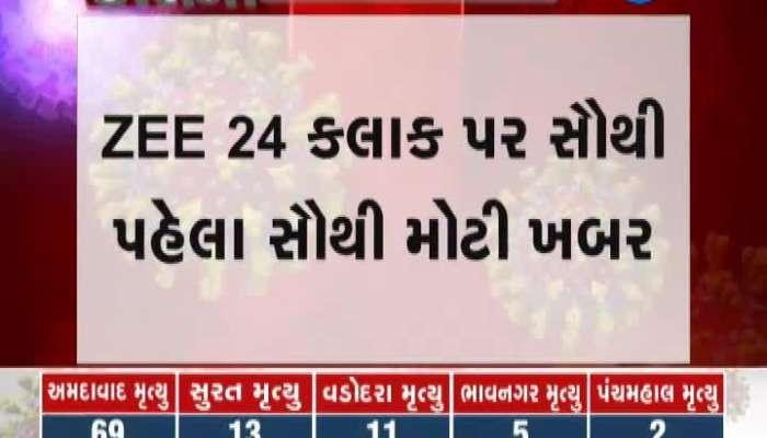 Corona Positive To 70 Employees Of Ahmedabad Municipal Corporation