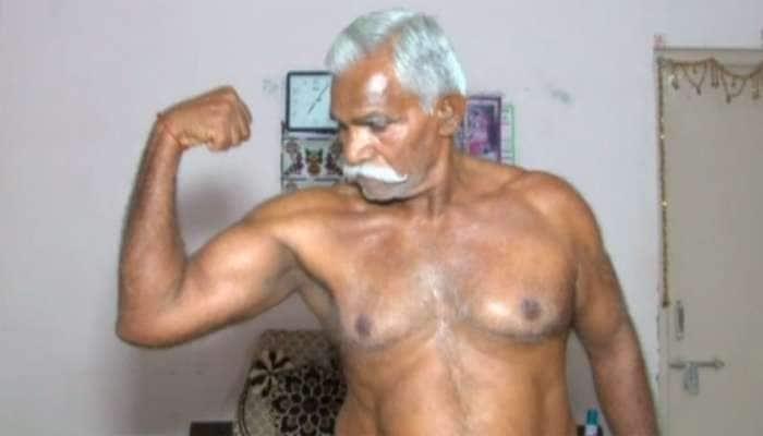 73 વર્ષના આ દાદા છે 'દેશી સુલતાન', સરળતાથી ઉપાડી લે છે 150 કિલો જેટલું વજન
