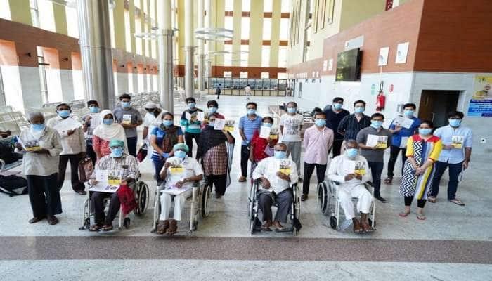 Good News: એસવીપી હોસ્પિટલમાંથી એક સાથે 40થી વધુ દર્દીઓ ડિસ્ચાર્જ