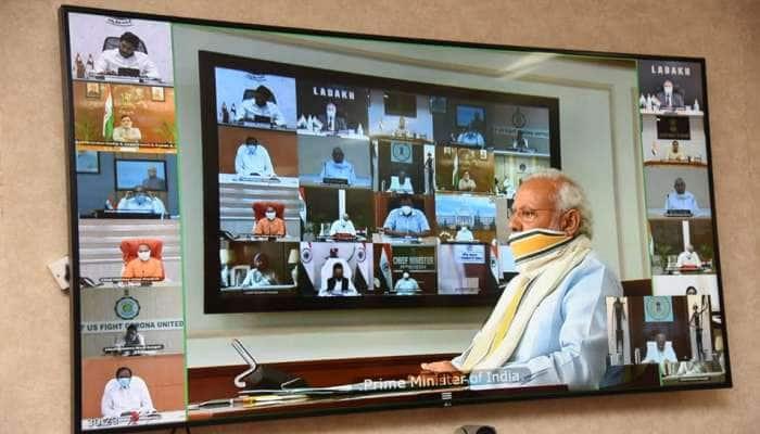 PM મોદીએ મુખ્યમંત્રીઓને કહ્યું: ગ્રામીણ ભારતને કોરોના મુક્ત રાખવું પડશે, Lockdown પર કહ્યું...