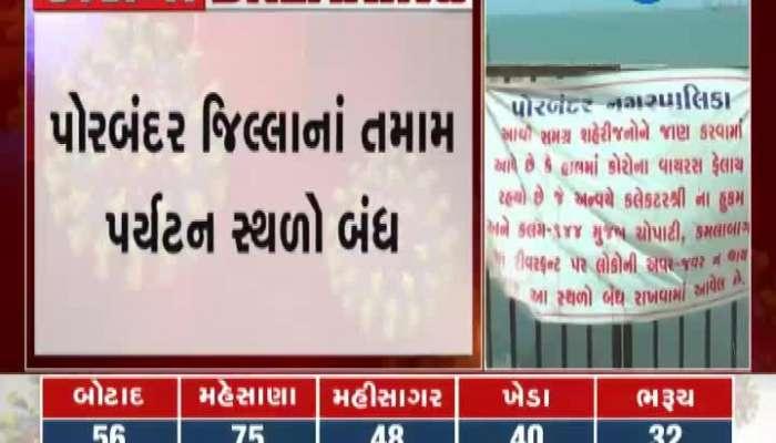 Ban On Visiting All Tourist Destinations In Porbandar