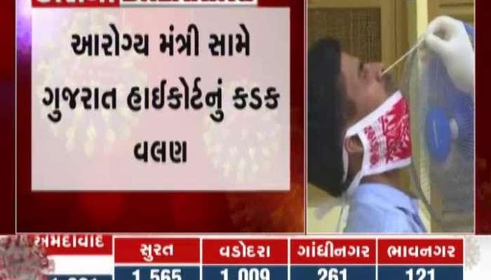 Gujarat High Court Warns Health Minister