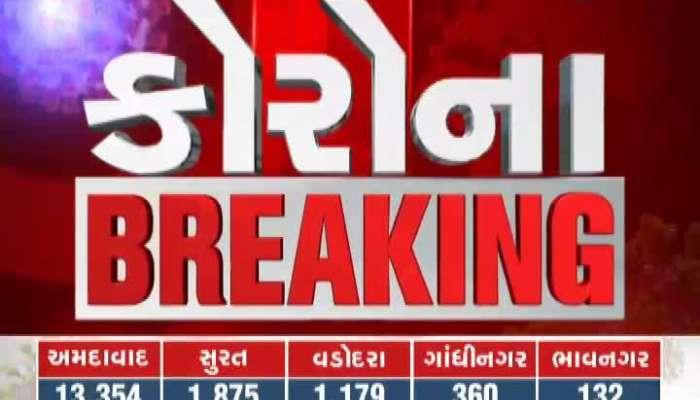 Corona virus cases in Gujarat