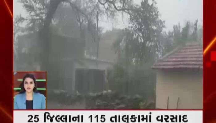 Fatafat Khabar: Rainfall In 115 Talukas Of 25 Districts Of Gujarat