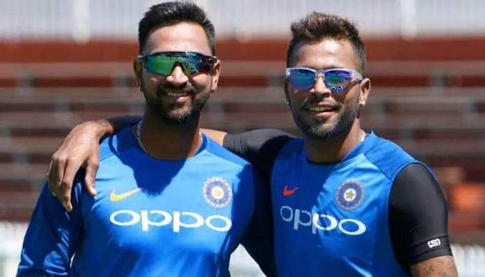 ભાઇની સાથે વડોદરા પહોંચ્યા ક્રિકેટર હાર્દિક પંડ્યા,  U-19 ખેલાડીઓ સાથે કરી મુલાકાત
