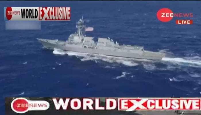 #ZeeNewsWorldExclusive: સમુદ્રમાં ચીનની ઘેરાબંધી, અંડમાનમાં P8i એરક્રાફ્ટ તૈનાત