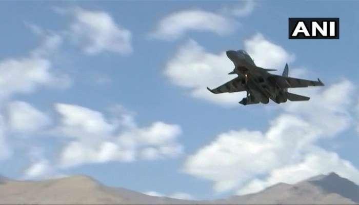 ચીનને મજબૂત સંદેશ, LAC પર ભારતીય વાયુસેનાના યુદ્ધ વિમાનોનું ઓપરેશન