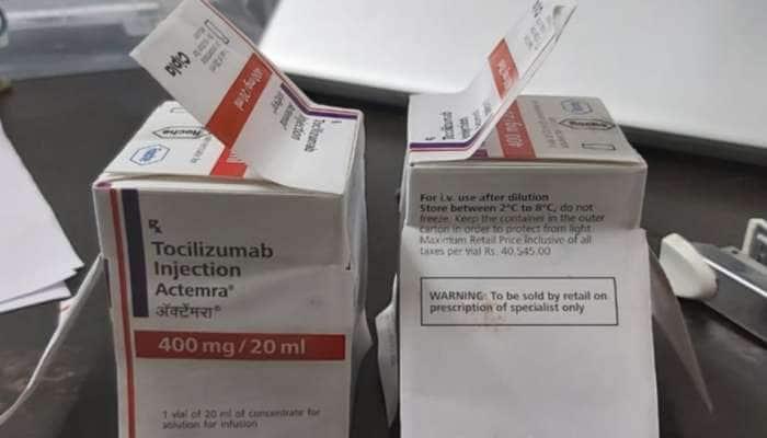 કોરોના દર્દી માટે વપરાતી અત્યંત જરૂરી દવાનું સુરતમાં ગેરકાયદેસર વેચાણનો થયો પર્દાફાશ