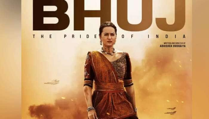 FIRST LOOK: 'ભૂજ ધ પ્રાઇડ ઓફ ઇન્ડીયા'માં આવો હશે Sonakshi Sinha નો અંદાજ