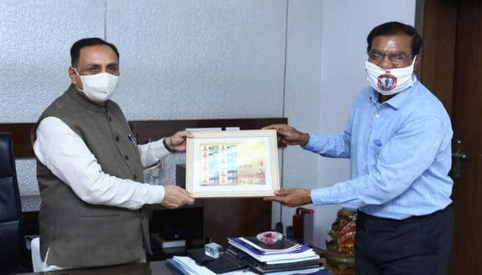 ભૂમિ પૂજનના દિવસે ગુજરાત ટપાલ વિભાગ દ્વારા  પિક્ટોરિઅલ કેન્સલેશન જારી કરાઈ