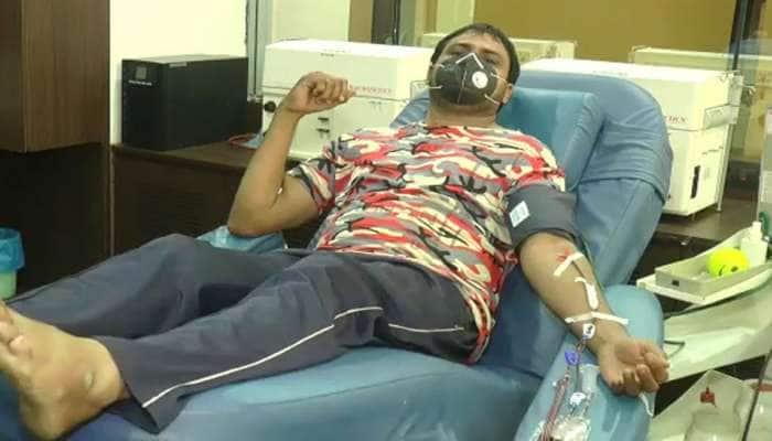 ગુજરાતના પ્રથમ કોરોના દર્દીએ રાજકોટમાંકર્યું પ્લાઝમા ડોનેટ