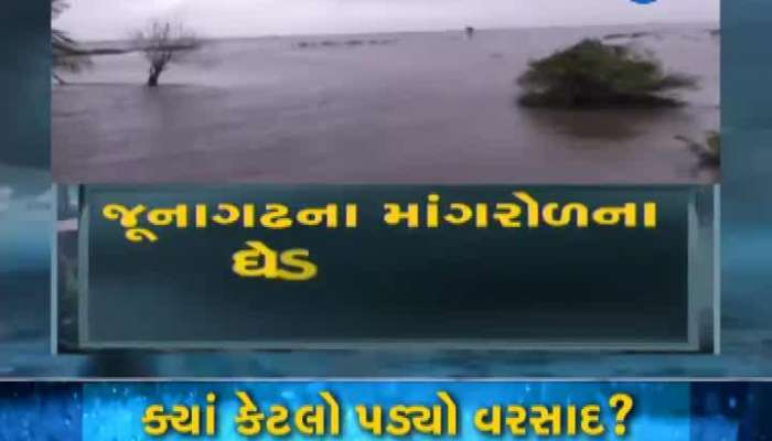 Heavy Rainfall In Ghed Diocese Of Mangrol