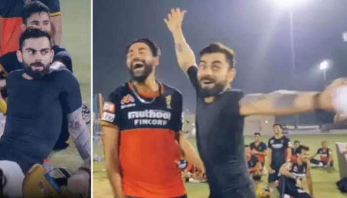 IPL 2020: વિરાટ કોહલીની આવી મસ્તી પહેલા ક્યારે જોઈ નહીં હોય, જુઓ આ રહ્યો VIDEO