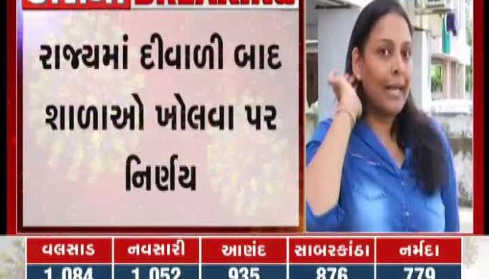 ZEE 24 Kalak Special Conversation With The Parents Of Ahmedabad On When Will The Schools Open