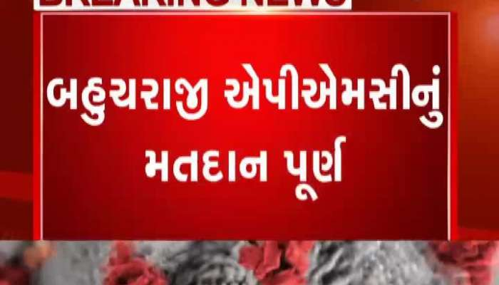 Bahucharaji APMC's average 97% turnout