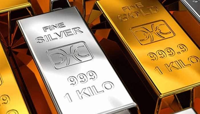 Gold Price Latest: ચાંદીના ભાવમાં જબરદસ્ત ઘટાડો, સોનું પણ થયું સસ્તું, જાણો કેટલો છે ભાવ