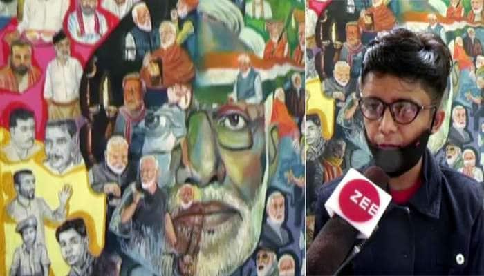 PM મોદીના ચિત્ર બનાવી માણાવદરના દિવ્યાંગ બાળકે સ્થાપીત કર્યો વર્લ્ડ રેકોડ