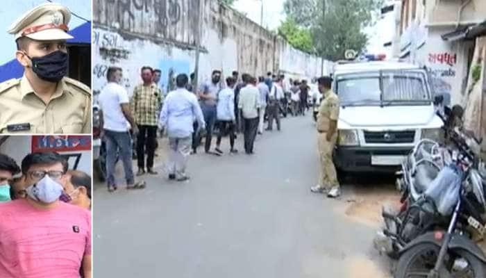 પોલીસની તુમાખી માસ્કના નામે દંડના બદલે 'દંડા', વેપારીઓએ લગાવ્યા ગંભીર આક્ષેપ