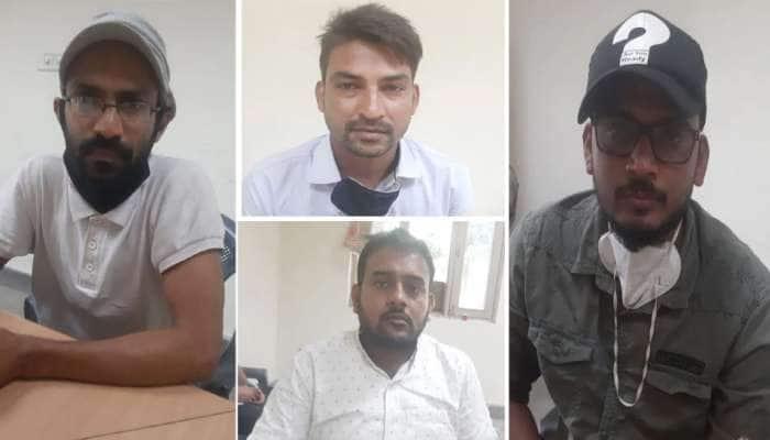 હાથરસના બહાને UPને ભડકે બાળવાનું ષડયંત્ર, PFIના 4 સંદિગ્ધ લોકોની ધરપકડ