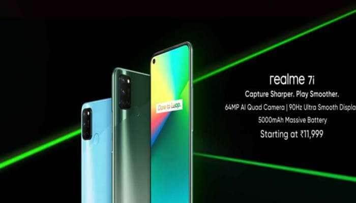 Realme 7i થયો લોન્ચ,  4+ 64GB વેરિએન્ટની કિંમત છે 11,999 રૂપિયા