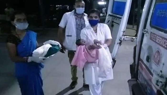 સગર્ભા ટ્રોમા સેન્ટર પહોંચે તે પહેલા જ 108માં બાળકનું માથું બહાર આવી ગયું, સ્ટાફે તાત્કાલિક કરાવી ડિલીવરી