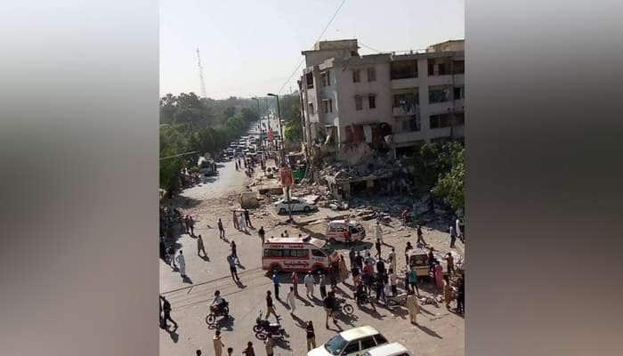 પાકિસ્તાન: કરાચીના મસ્કાન ચૌરંગી વિસ્તારમાં વિસ્ફોટ, 3 લોકોના મૃત્યુ, અનેક ઘાયલ