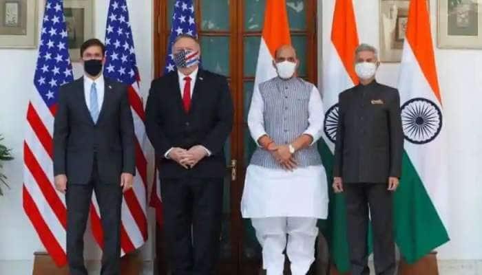 ભારત અને અમેરિકા વચ્ચે ઐતિહાસિક BECA સહિત 5 કરાર પર થયા હસ્તાક્ષર