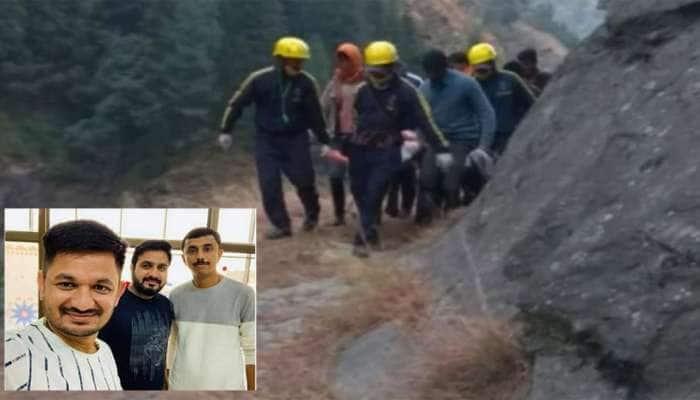 ઉત્તરાખંડ ફરવા ગયેલા ત્રણ ગુજરાતી મિત્રોની કાર 300 મીટર ઊંડી ખીણમાં ખાબકી, એકનું મોત, એક લાપતા