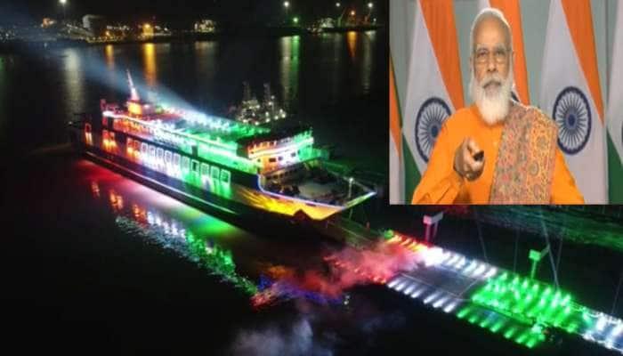 PM મોદીએ ગુજરાતીઓને આપી દિવાળી ભેટ, હજીરા ઘોઘા રો-પેક્સ ફેરી સર્વિસનું લોકાર્પણ કર્યું