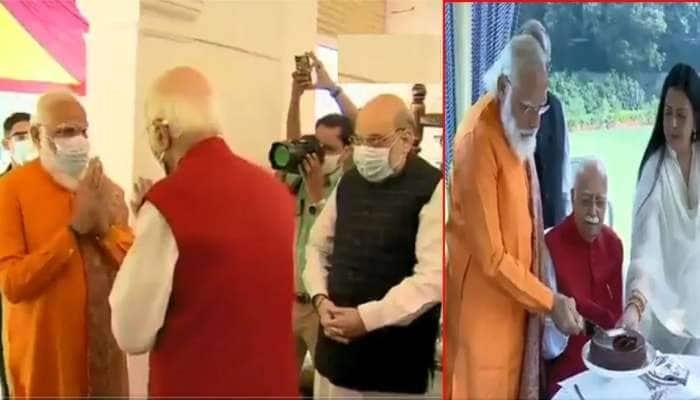 93 વર્ષના થયા ભાજપના શિખર પુરુષ લાલકૃષ્ણ અડવાણી, PM મોદીએ ઘરે જઈને પાઠવી શુભેચ્છા