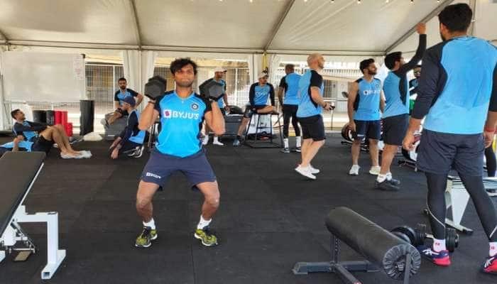 ભારતીય ટીમ કોરોના તપાસમાં નેગેટિવ, શરૂ કરી પ્રેક્ટિસ, જુઓ તસવીરો